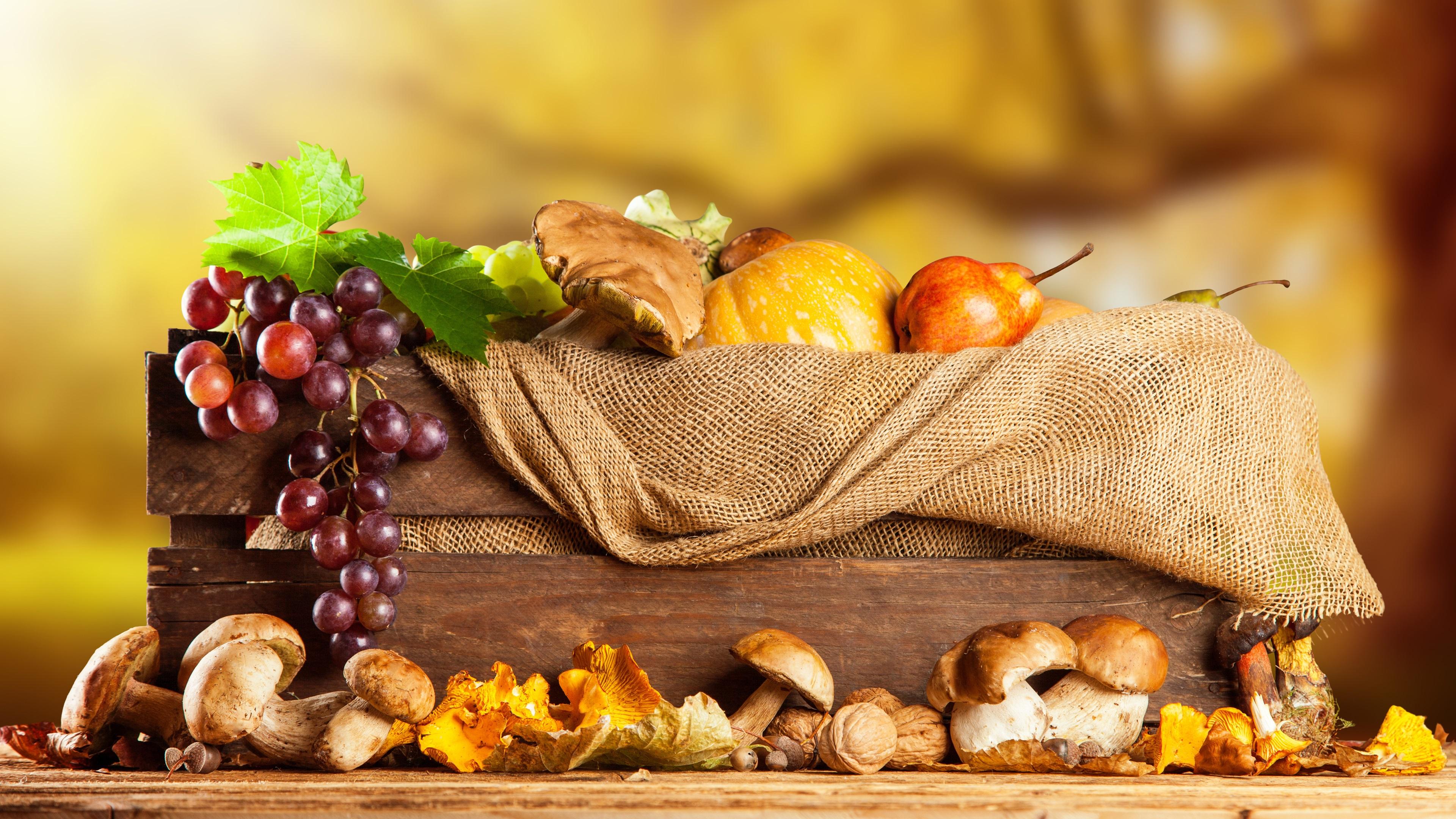 Autunno verdure e frutta