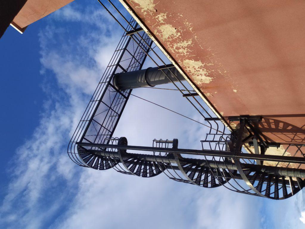 Firenze scala elicoidale Centrale Termica FS
