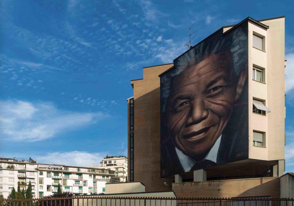 Jorit Nelson Mandela Firenze Rifredi