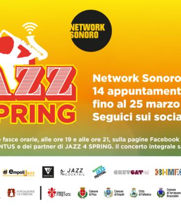 La rassegna Jazz4Spring parte online