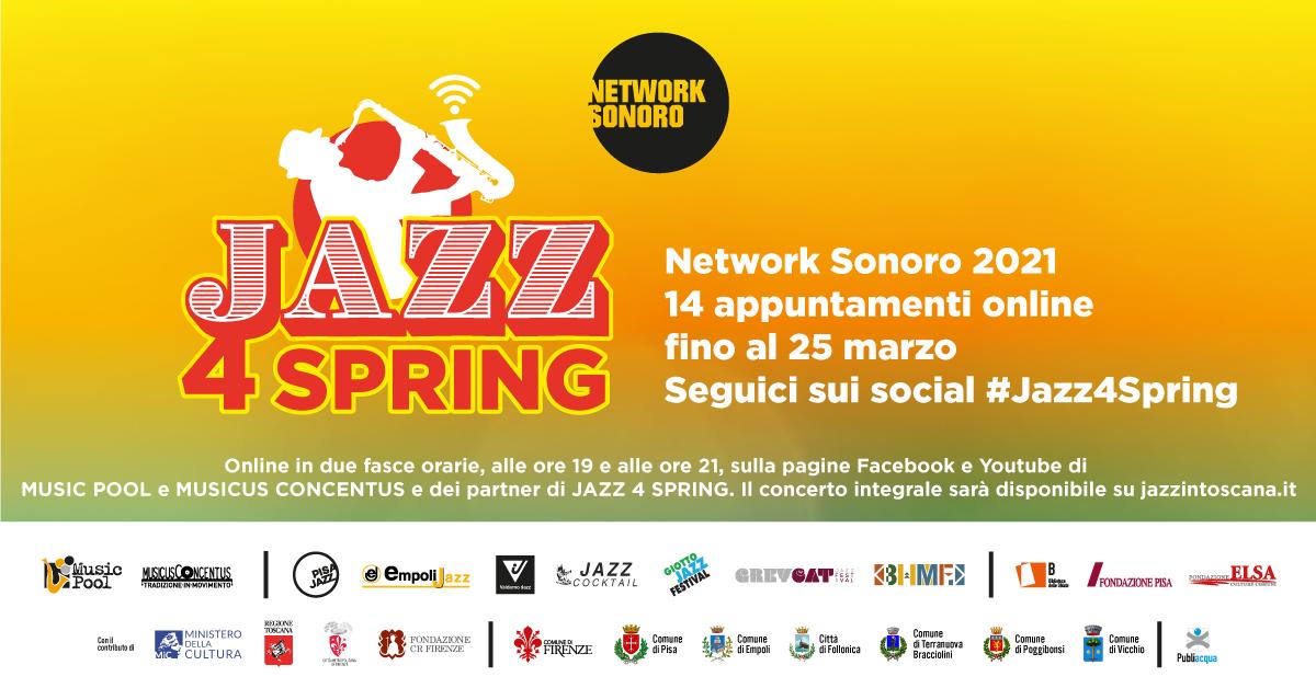 Jazz4Spring rassegna jazz online