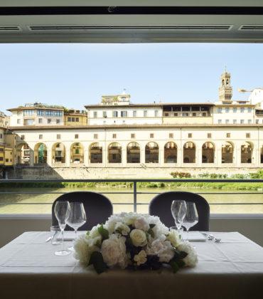 Il rinnovato ristorante Golden View a Firenze