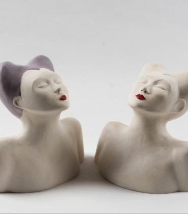 Le sculture femminili di Viviana Natalini a Lucca
